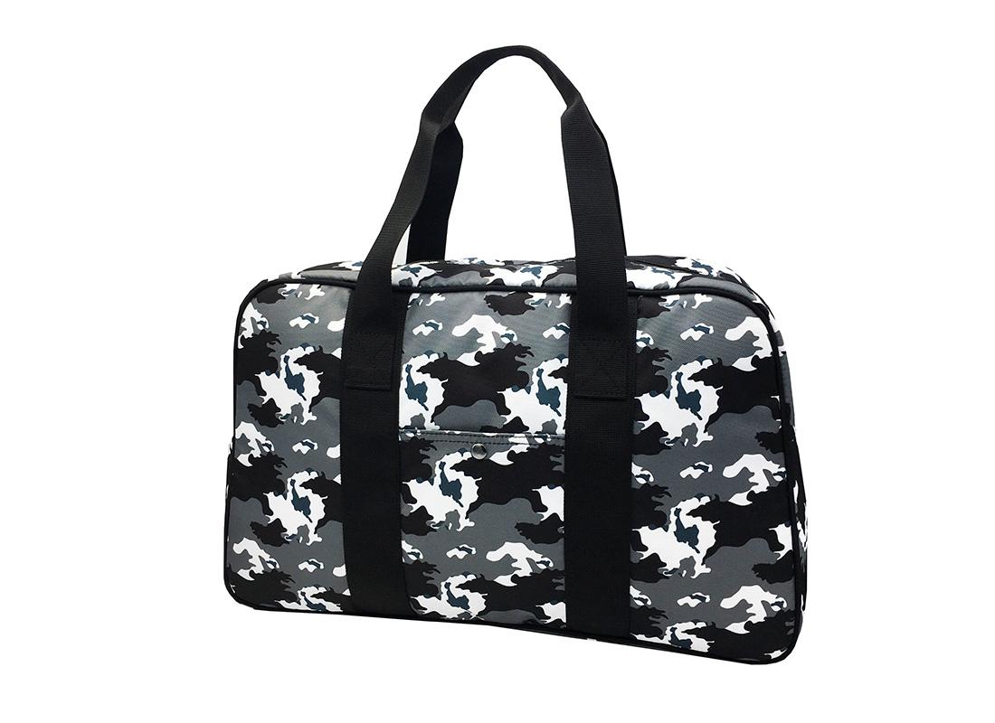 Camo duffel Bag weekender bag R side