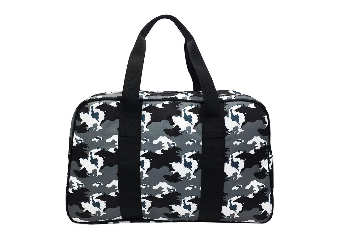 Camo duffel Bag weekender bag back