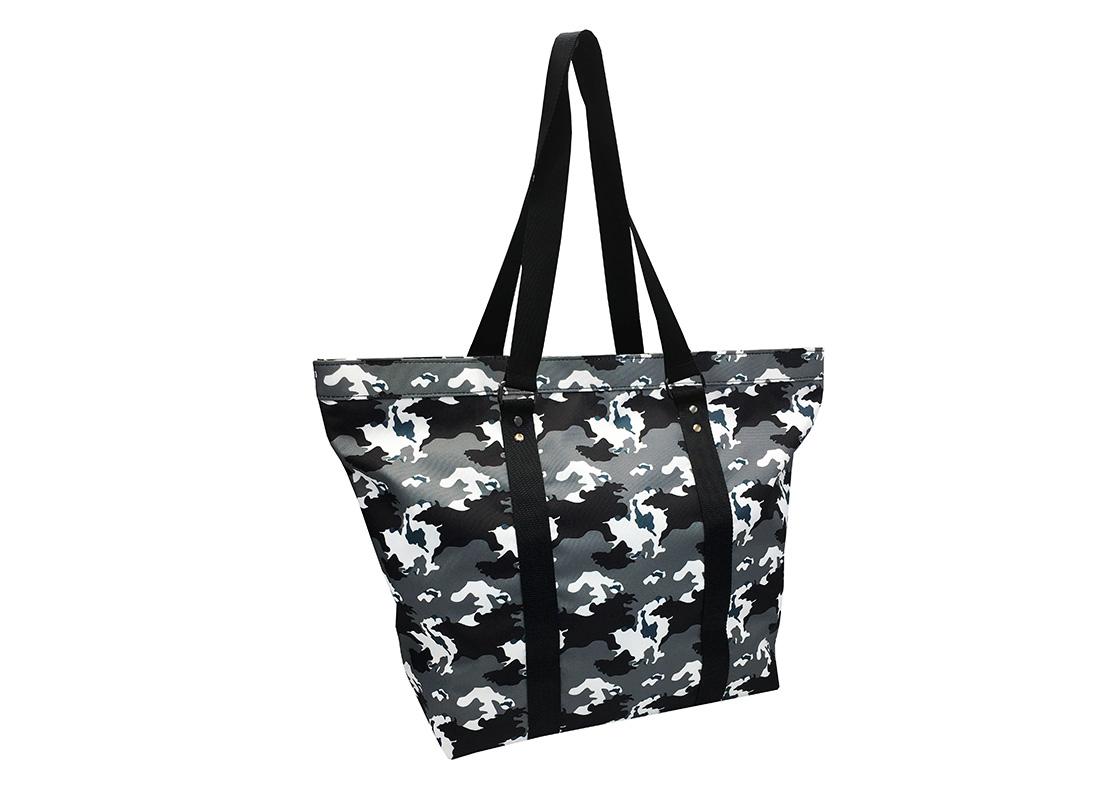Large Camo Tote Bag L side
