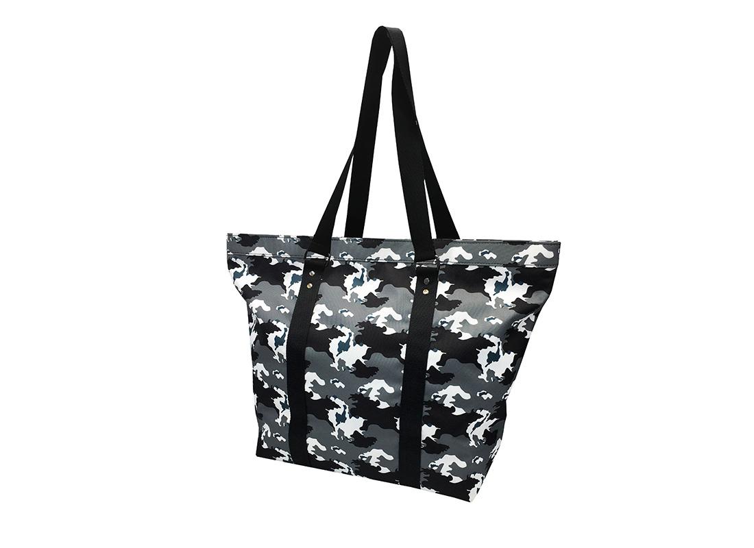 Large Camo Tote Bag R side