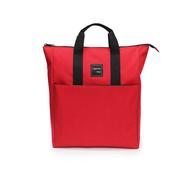 simple backpack - 20005 - Red front