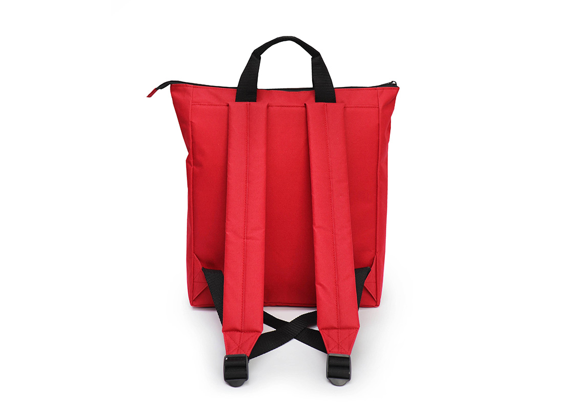 simple backpack - 20005 - red back