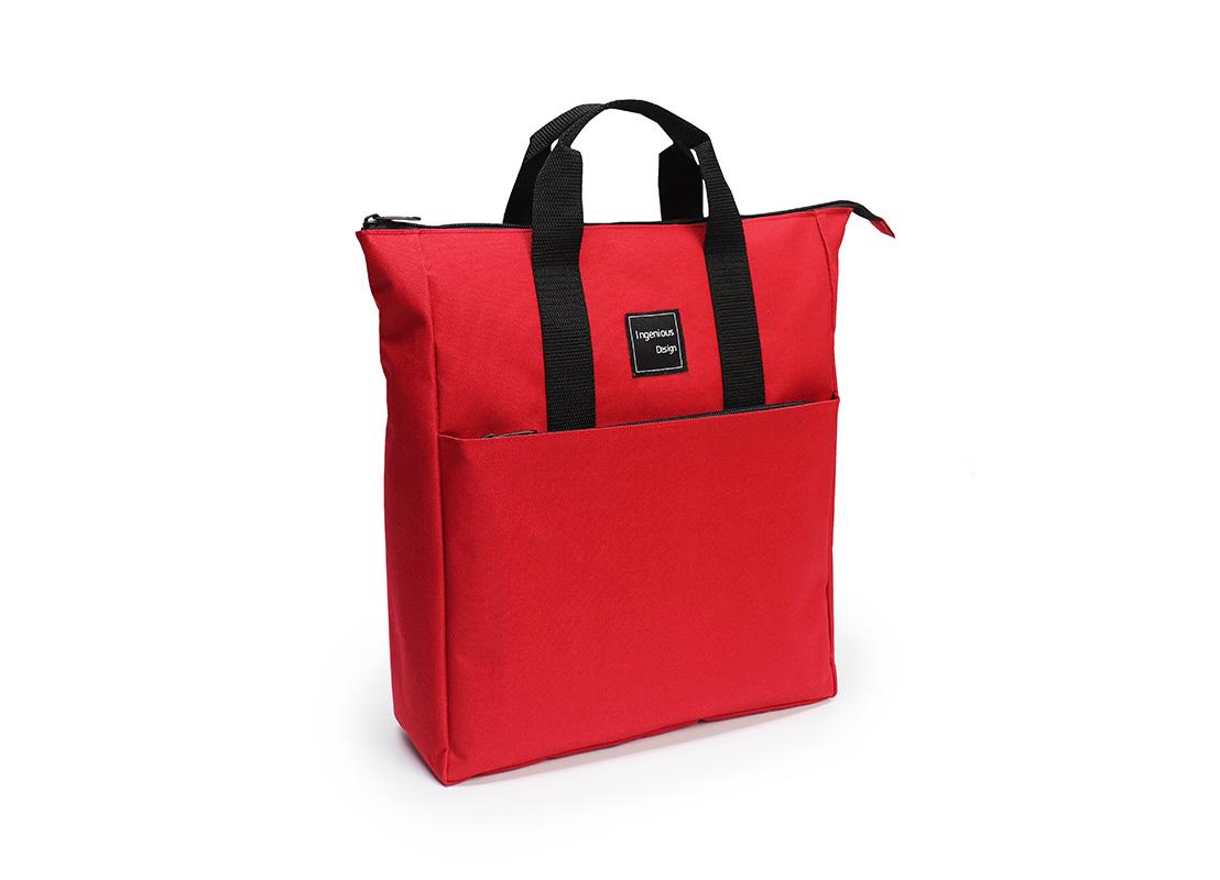 simplet backpack - 20005 - red L side