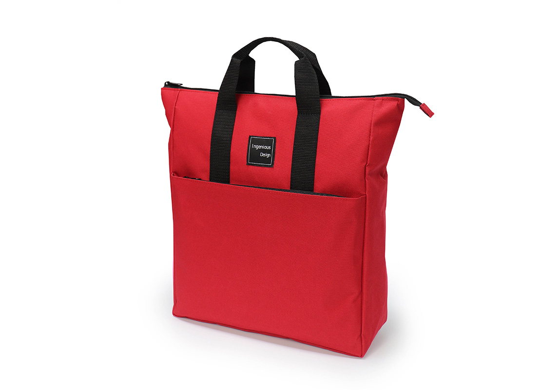 simple backpack - 20005 - red R side