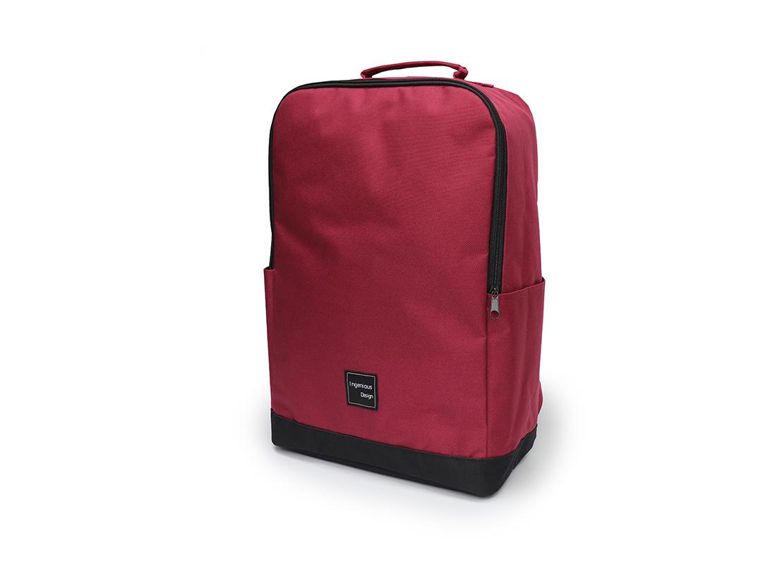 simple backpack - 20007 - dark red R side
