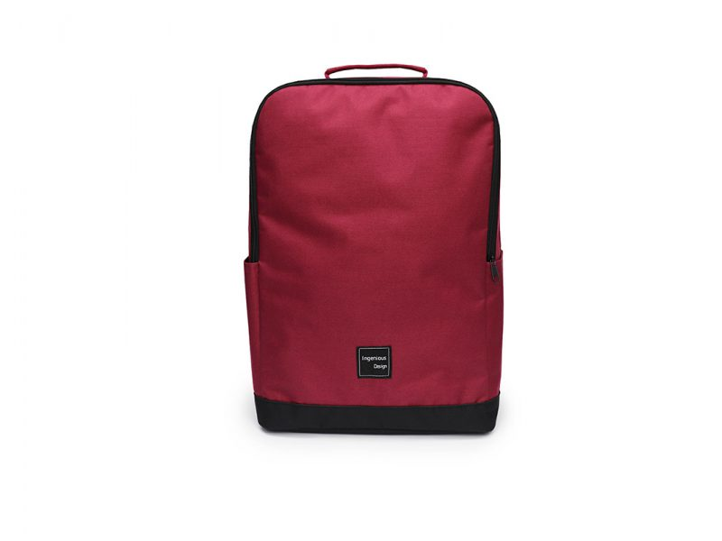 simple backpack - 20007 - Dark Red front