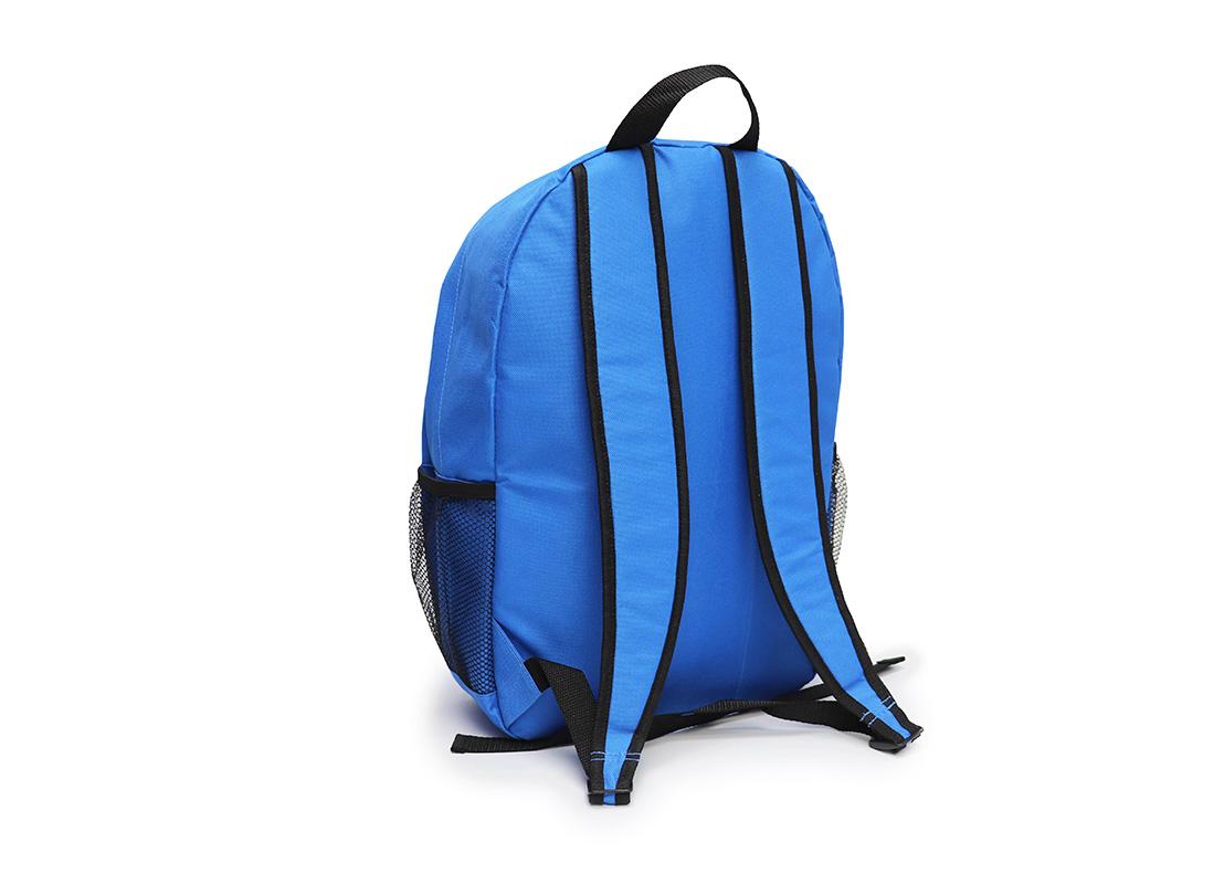 simple backpack - 20008 - blue L back