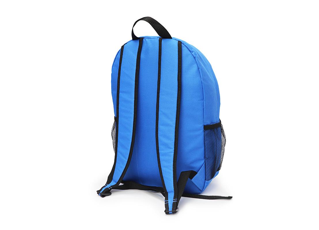 simple backpack - 20008 - blue R back