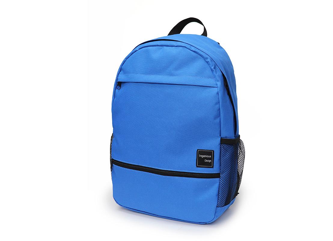 simple backpack - 20008 - blue R side
