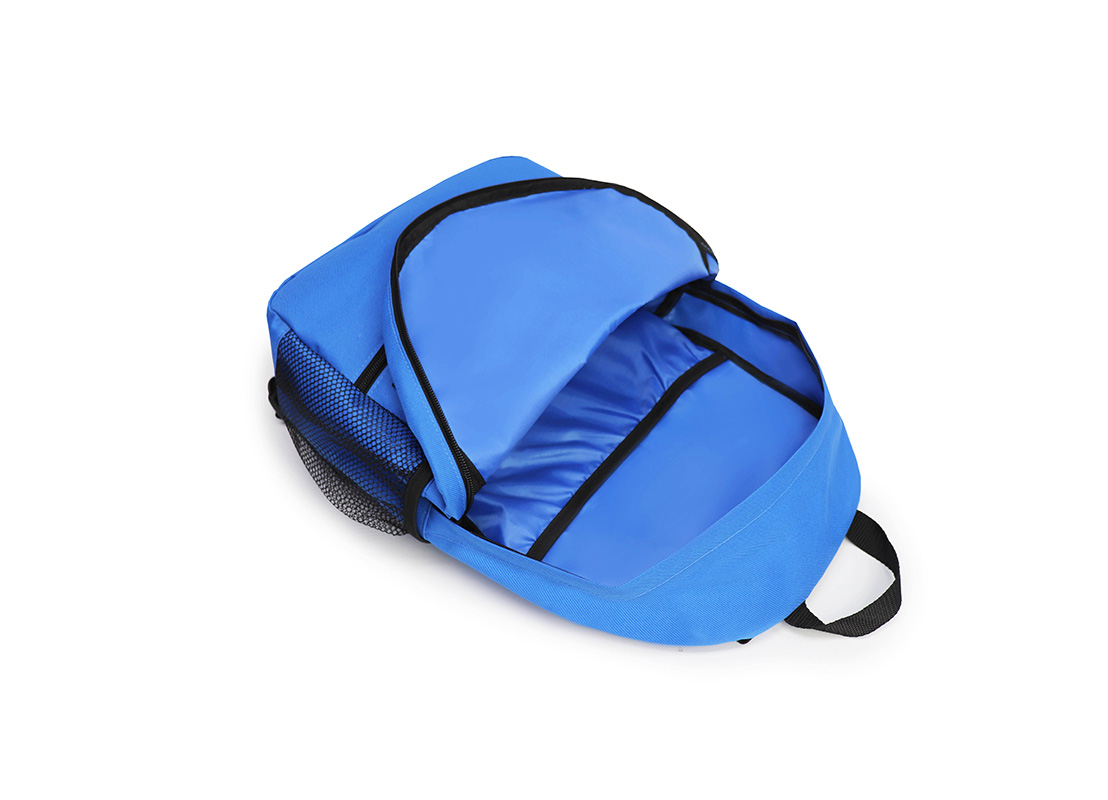 simple backpack - 20008 - blue open