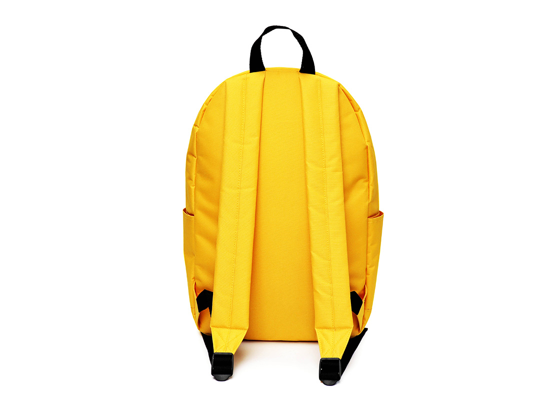 simple backpack - 20006 - yellow back