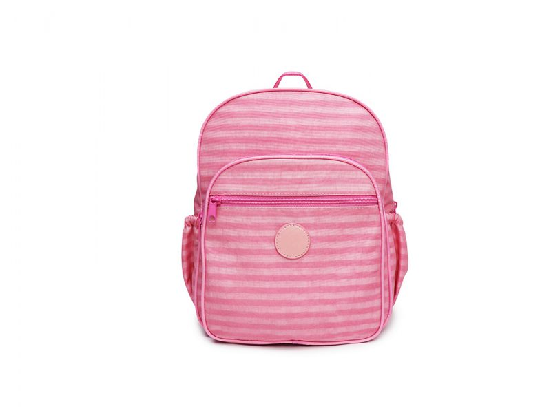 Pastel Pink Backpack - 20001 - pink front