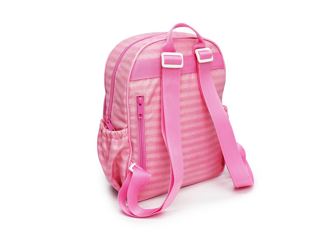 Pastel Pink Backpack - 20001 - pink L back