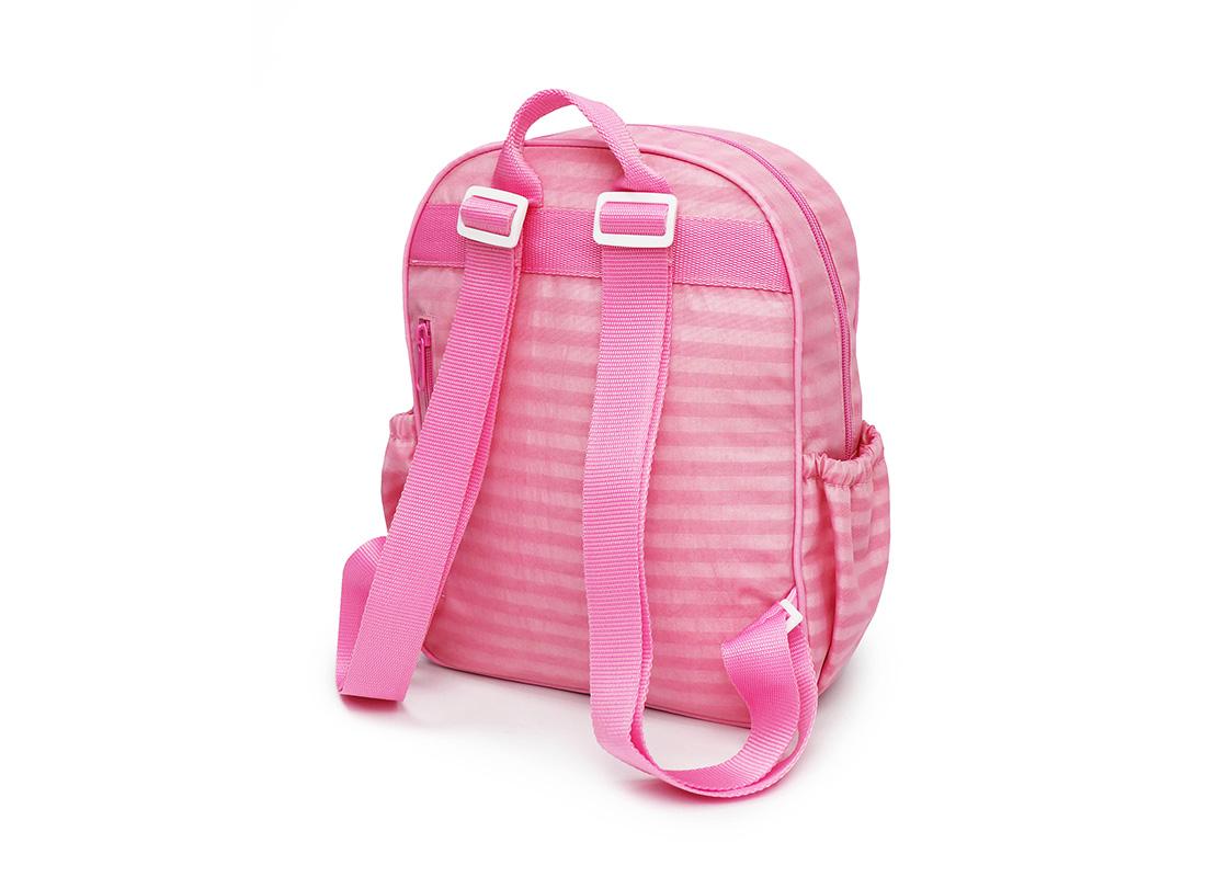 Pastel Pink Backpack - 20001 - pink R back