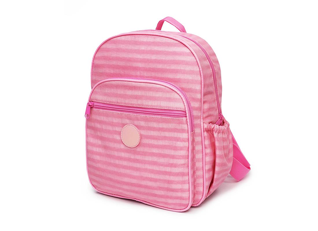 Pastel Pink Backpack - 20001 - pink R side