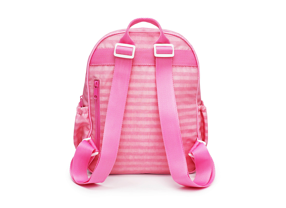 Pastel Pink Backpack - 20001 - pink back
