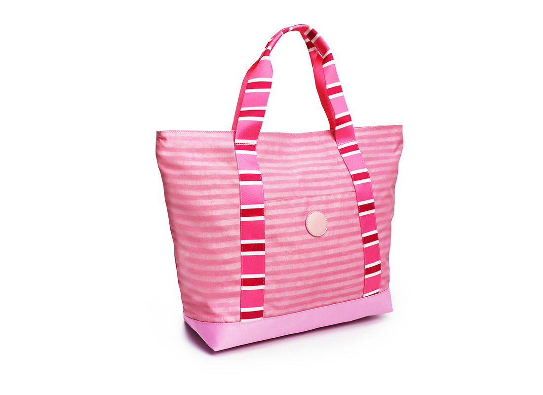 Pastel Pink Tote - 20002 - Pink L side