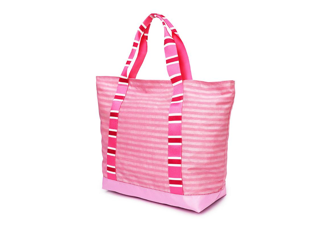 Pastel Pink Tote - 20002 - Pink R back