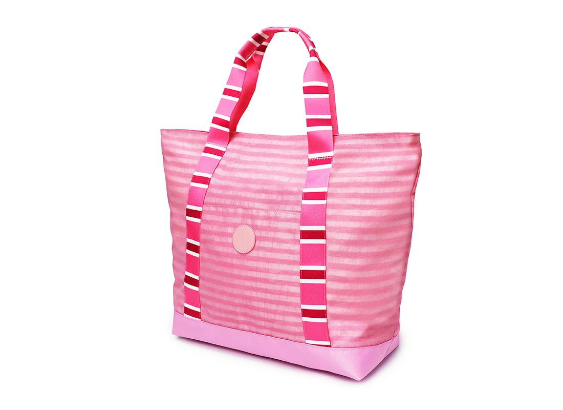 Pastel Pink Tote - 20002 - Pink R side