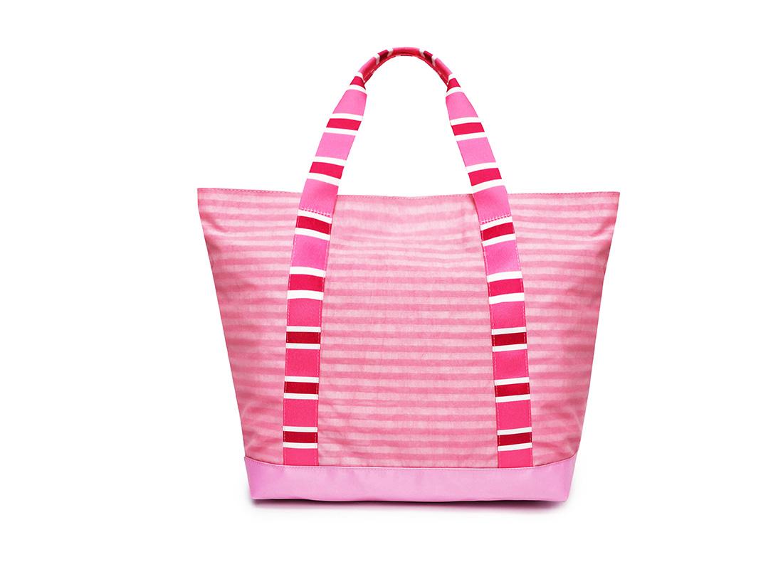 Pastel Pink Tote - 20002 - Pink back