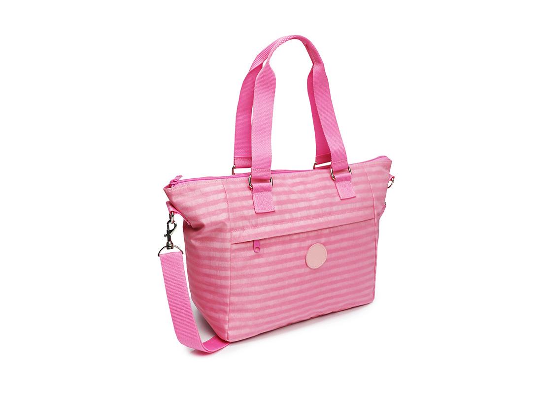 Pastel Pink Tote - 20003 - Pink L side