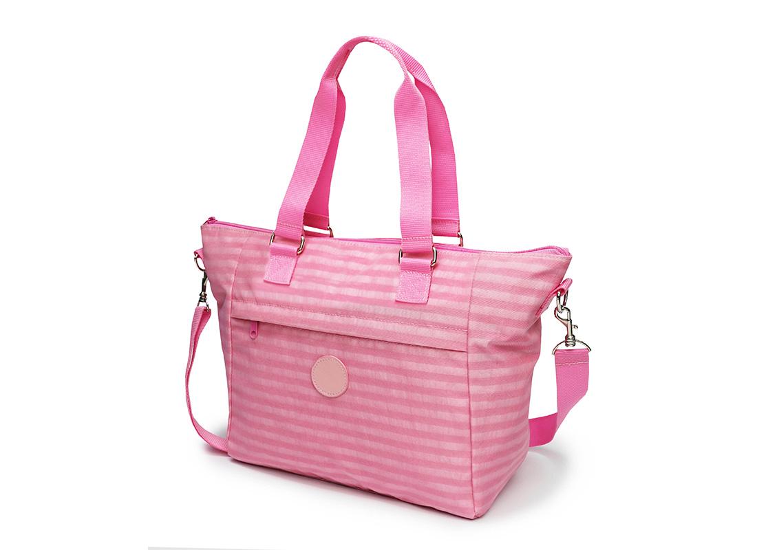 Pastel Pink Tote - 20003 - Pink R side