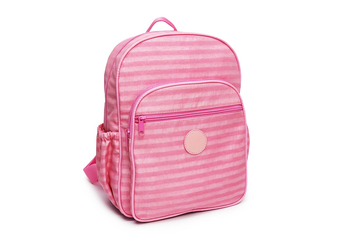 Pastel Pink Backpack - 20001 - pink L side
