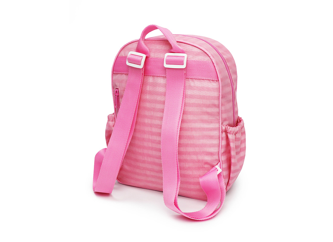Pastel Pink Backpack - 20001 - pink R back