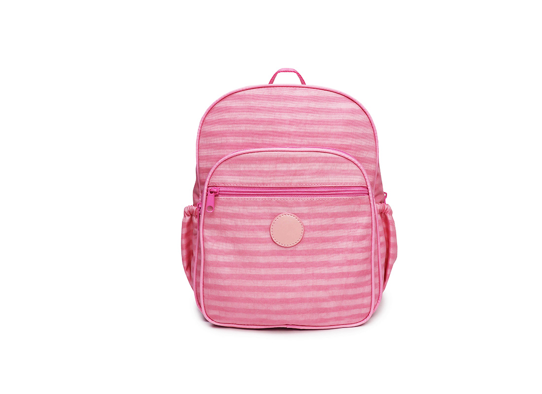 Pastel Pink Backpack - 20001 - pink front