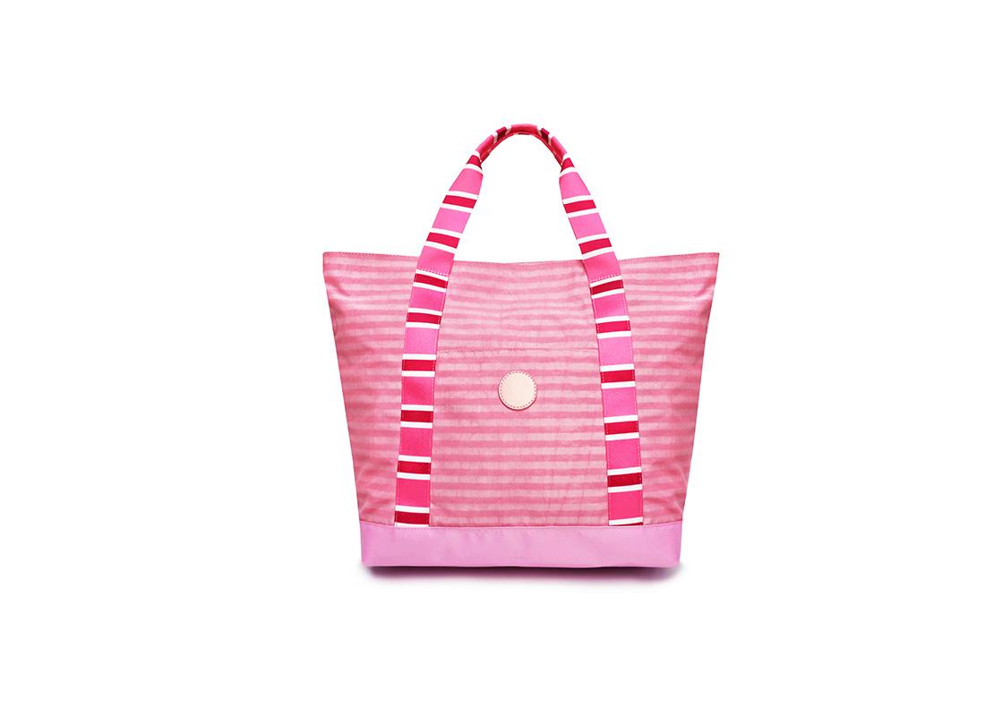 Pastel Pink Tote - 20002 - Pink Front