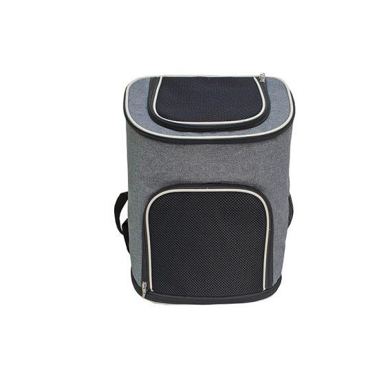 Pet Carrier Bag - 21008 - Grey - front