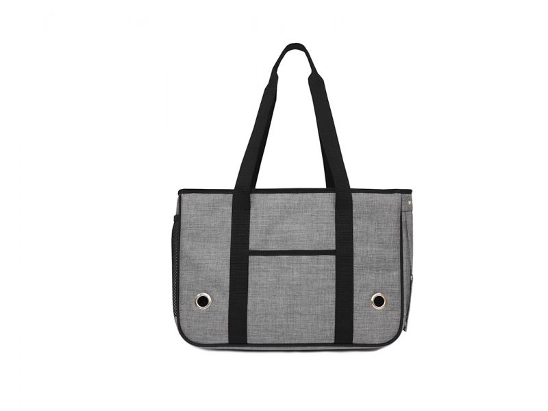 Small Pet Carrier Bag - 21006 - Grey Front