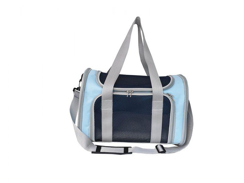 Pet Carrier Bag - 21007 - Blue - Front