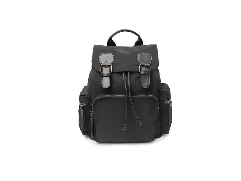 Lumin Small Backpack - 21015 - black front