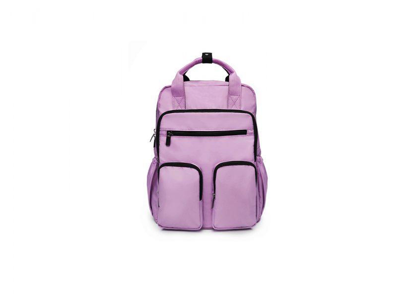 M Pockets Backpack - 21017 - purple front